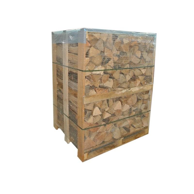 Palette de 2 stères de Bois spécial poêles de masse sec séchoirs - Bois de chauffage et bois bûches - Piskorski