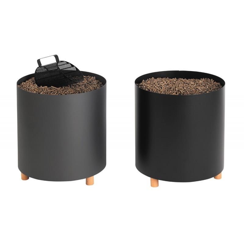 blend rangement bois ou granul s rangements bois de chauffage piskorski. Black Bedroom Furniture Sets. Home Design Ideas