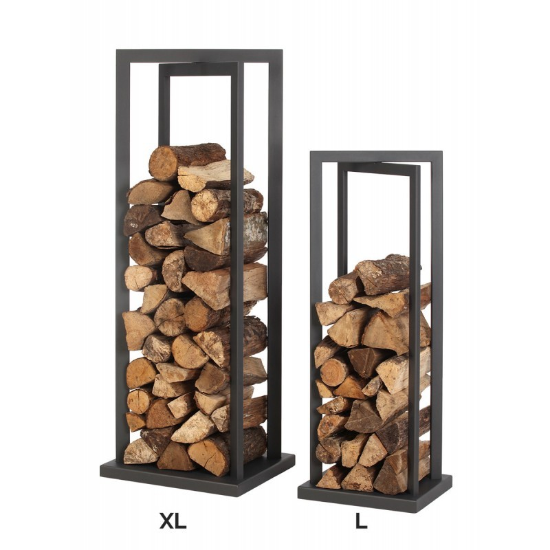 Vertigo rangement bois b ches rangements bois de chauffage piskorski - Leroy merlin porte buche ...