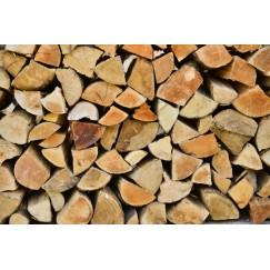 Palette de 1st de bois de chauffage en 33cm Spécial Pôele de Masse