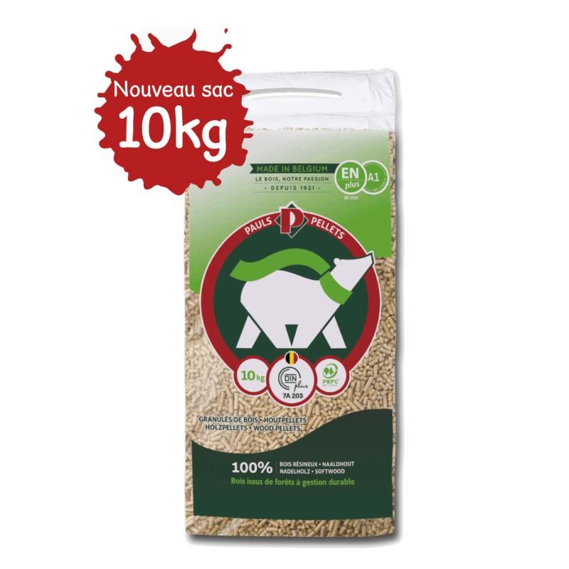 Granulés de bois PAULS Pellets - 104 sacs de 10kg - Granulés de bois & pellets - Piskorski