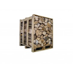 Bois de chauffage sec séchoirs – Palette de 1 stère - Bois de chauffage - Piskorski