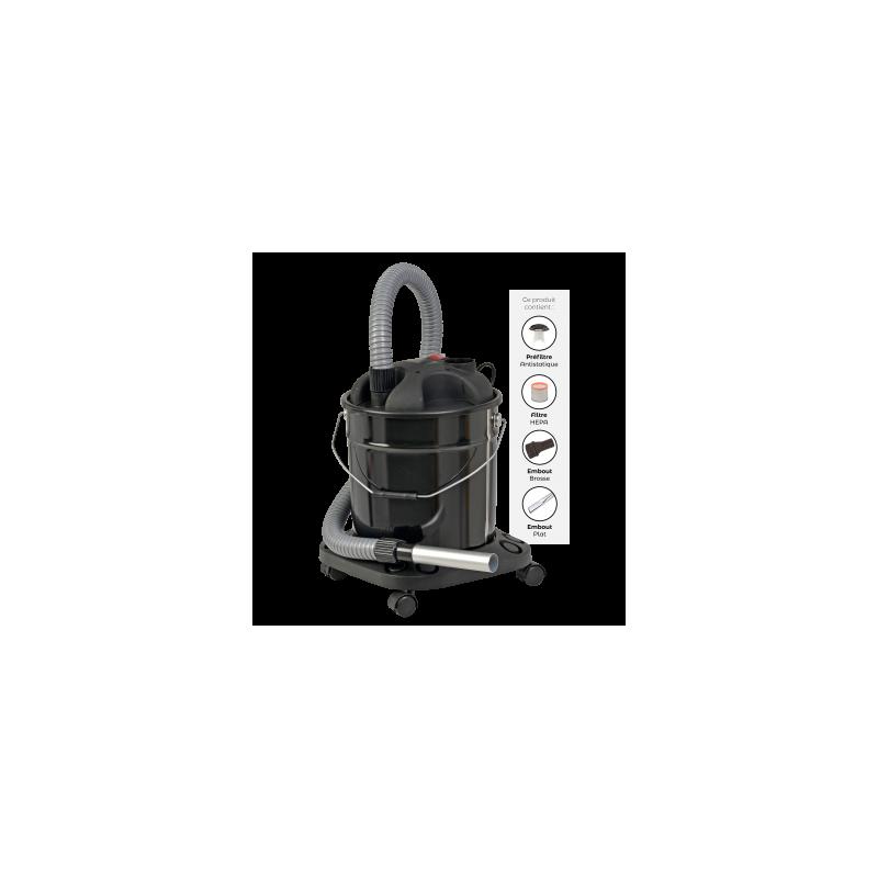 Aspirateur à Cendres - Spécial Poêle à Granulés de bois GRANUL'EXPRESS - Accessoires pour pôeles et cheminées à bois chauffage - Piskorski