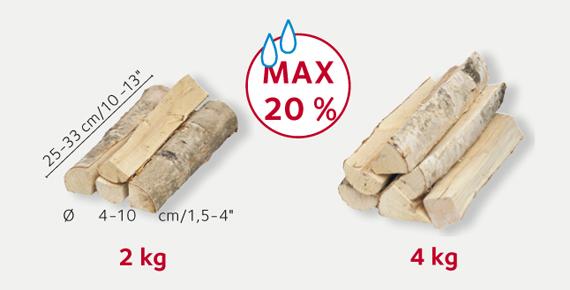 Palette de 1 stère de bois de chauffage spécial poêle de masse